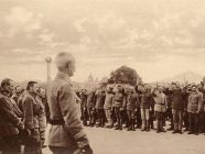 Released from Serbian captivity, World War I prisoners of war of Ukrainian nationality of former Austro-Hungarian Imperial army swear the oath of allegiance to Ukraine on August 3, 1919. (Image: Wikipedia)