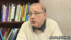 Hèctor Alòs i Font, Catalonian linguistics expert studying minority languages in Russia (Image: RFE/RL)