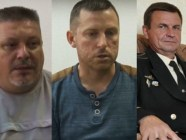 The latest Ukrainians arrested by the FSB in Crimea, from left to right: Serhiy Besarabov, Dmytro Shtyblikov, Volodymyr Dudko