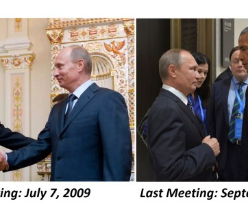 Obama-Putin first and last meetings (taller image for FB)