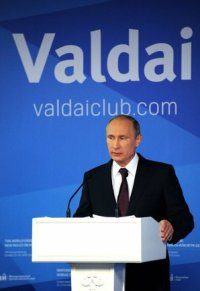 Putin speaking at Valdai (Image: Wikimedia)
