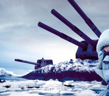 A Russian military base in the Arctic (Image: Youtube)