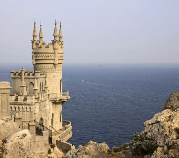 The Swallow's Nest near Yalta Palace in Crimea
