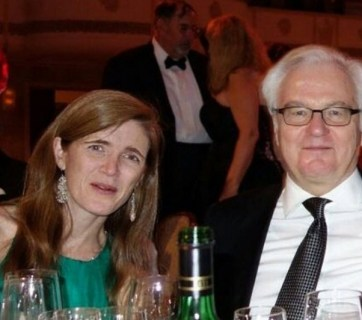 Samantha Power and Vitaly Churkin (Image: patriotikus.ru)
