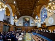 View of the ICJ courtroom on the opening day of the hearings.  Copyright: UN Photo/ICJ-CIJ/Frank van Beek.
