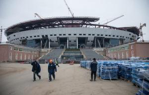 "Moscow, in its rush to build venues for the 2018 World Cup is Using ""slaves"" from North Korea to complete the work under budget (Image: Wikimedia)"