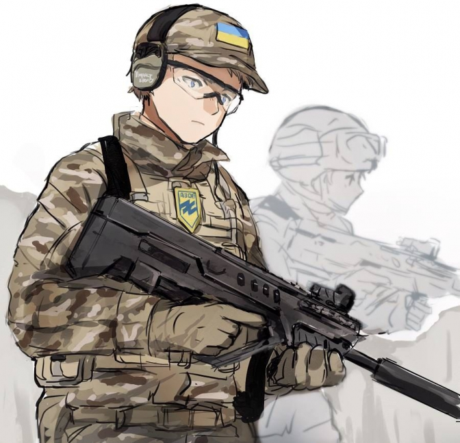 Japanese Go Crazy Over Ukrainian Anime Style Soldiers Euromaidan
