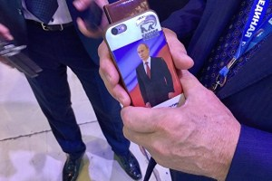 United Russia party Putin phone