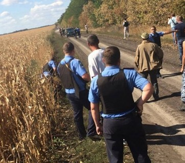 raider attack on one of the Ukrainian farm businesses