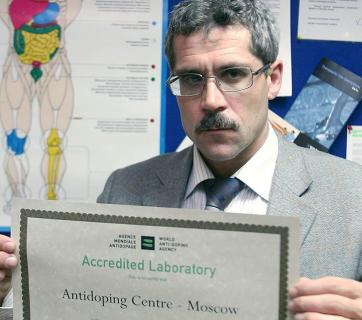 Two Russian athletes have confirmed the existence of a doping cocktail described by Grigory Rodchenkov (pictured), the former head of a Moscow anti-doping lab, in the first admission of involvement since Russia was accused of running a state-sponsored doping program. (Image: TASS)