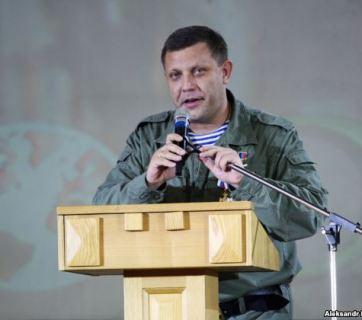 "Oleksadr Zakharchenko, self-proclaimed ""DNR leader"""