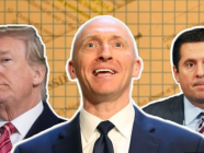 Donald Trump, Carter Page, Devin Nunes (Source: BBC, Getty Images)