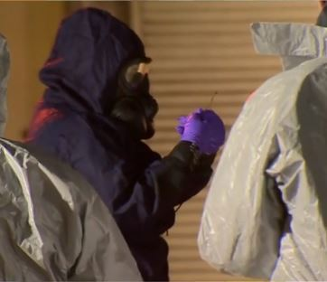 "The UK's interior minister says a ""very rare"" nerve agent was used to poison former Russian spy  Sergei Skripal and his daughter. Photo: screenshot from Aljazeera video"