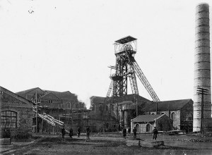The Bunhe mine in the 1910s.