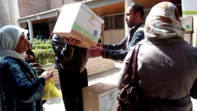"""Photo of """" الوفاء الأوروبية"""" تبدأ مشروع توزيع السلل الغذائية في العاصمة دمشق"""