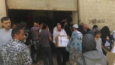 Photo of قافلة الوفاء الثالثة عشر – سوريا – مخيم اليرموك 08/08/2015