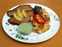 schnitzel-mit-grune-sauce
