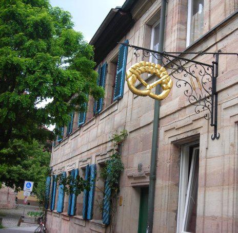 A German bakery tucked away on Schiffstrasse