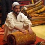 Souk carpet seller