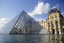 The architect of the Louvre