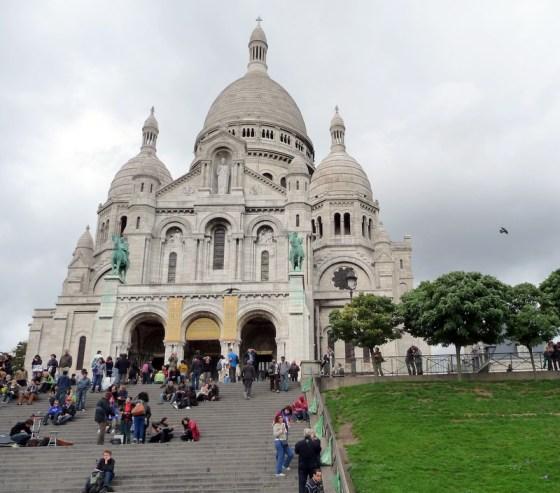 The steps to Sacre Coeur