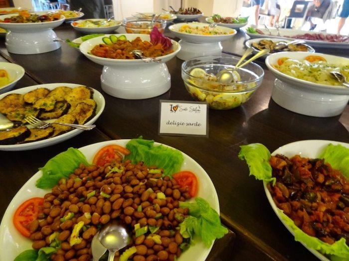 Sardinian specialties at  Santo Stefano Resort