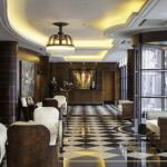 The lobby of the Beaumont Hotel in London