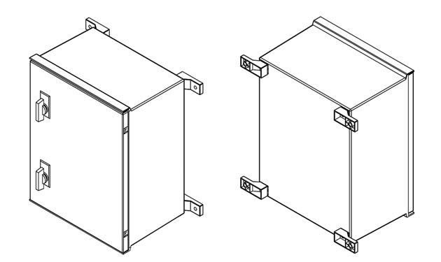 armoires coffrets polyester mini euro 3d