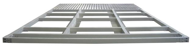 armoires coffrets polyester plancher-socle