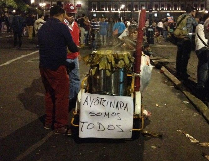 Unidos pelo retorno dos estudantes de Ayotzinapa