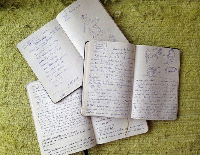 Porque manter um diário de viagem | EU SOU À TOA