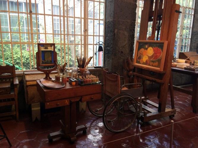 Museo-Frida-Kahlo-Estudio