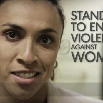 A violência contra a mulher tem de parar!
