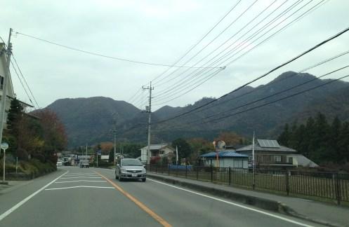 白糸の滝(道中)