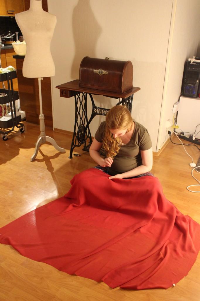 tacking sewing singer