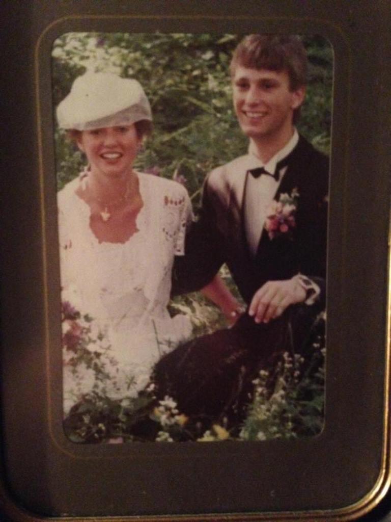 vintage heklet brudekjole med bolero