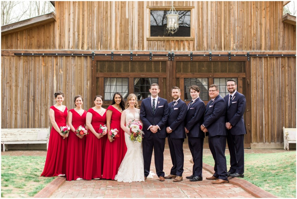 Wheeler House Photographer Bridal Party