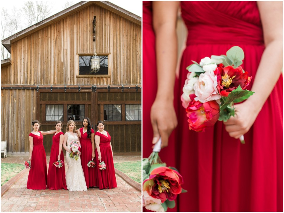 Wheeler House Photographer Bridesmaids