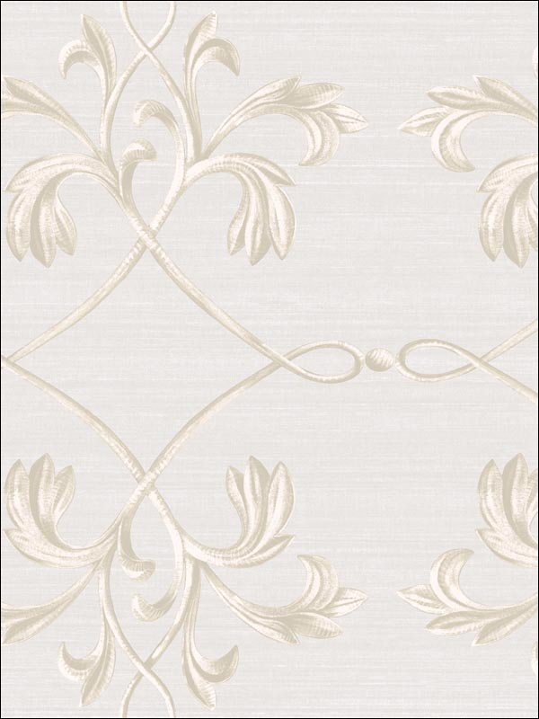 April Acanthus Lattice | Evans & Brown for Brewster Home Fashions