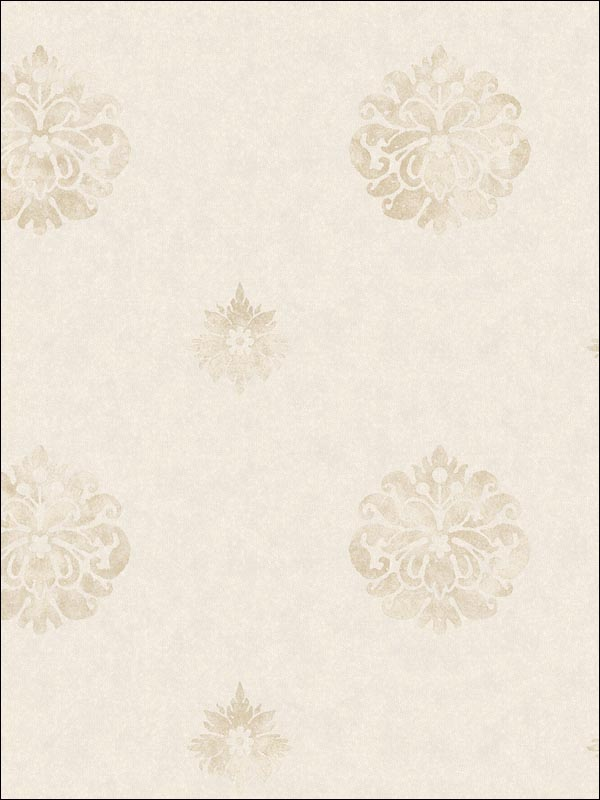 Meadow Medallion | Evans & Brown for Brewster Home Fashions