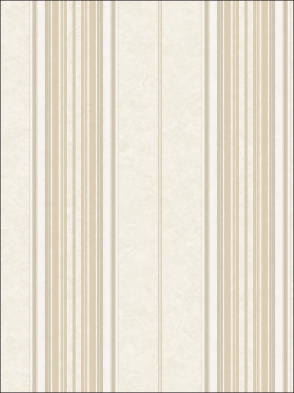 Poppy Baroque Stripe | Evans & Brown for Brewster Home Fashions