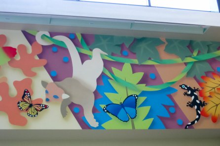 Almaden Library | Evans & Brown mural art