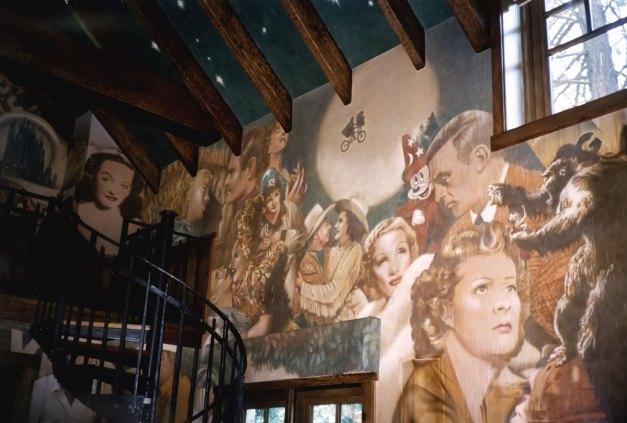 Screening room | Evans & Brown mural art