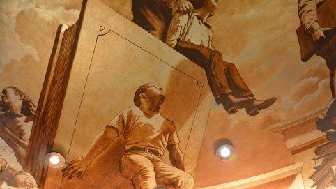"""Into the Light"" | Evans & Brown mural art"
