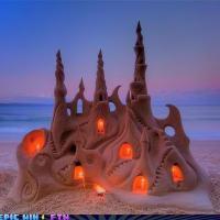 Epic Sand Castle