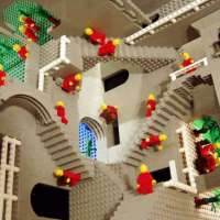 Another Tribute to MC Escher (with LEGOS!)