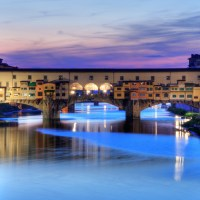 Wallpaper: Ponte Vecchio in Florence, Italy