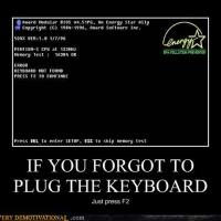 Fail: Missing Keyboard