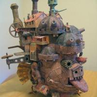 Miyazaki: Howls Moving Castle in Real Life