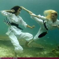 Epic Underwater Kung Fu
